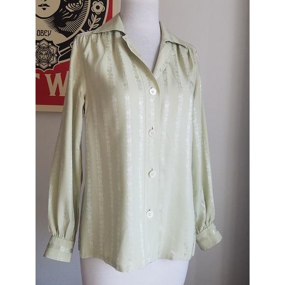 26c4e587619d Celine Tops   Vintage Silk Blouse   Poshmark